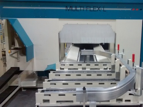 Sjoelund machines bended aluminium extrusions with Multi-Flex!